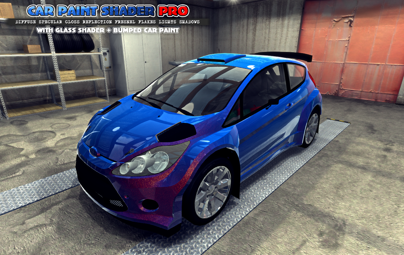 Car paint mobile shader pro v3 3 for Mobile auto painting