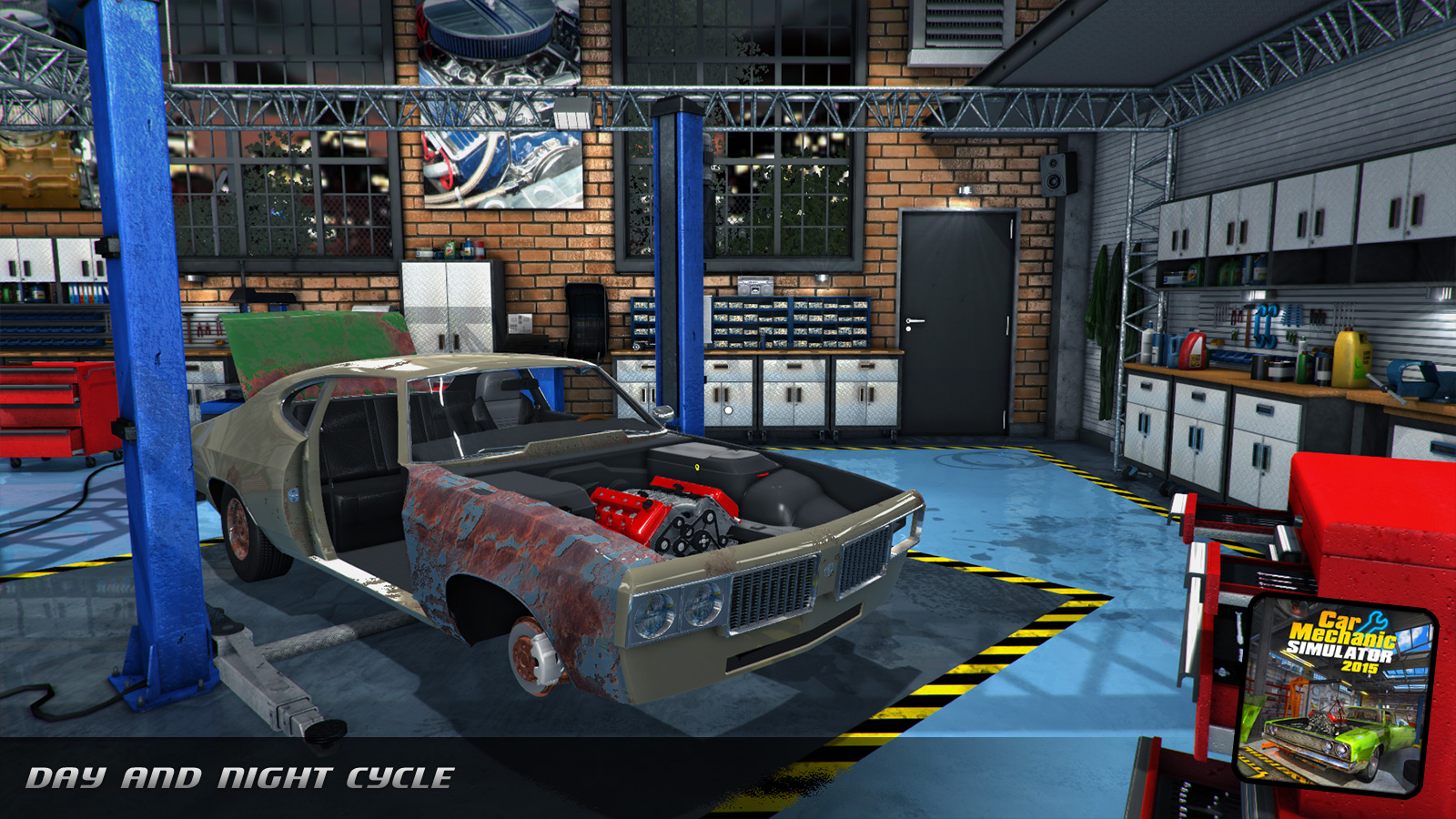 Red Dot Games : Game Development Studio | Car Mechanic Simulator 2015